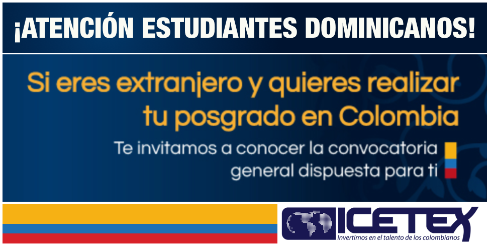 Convocatoria General para becas del ICETEX